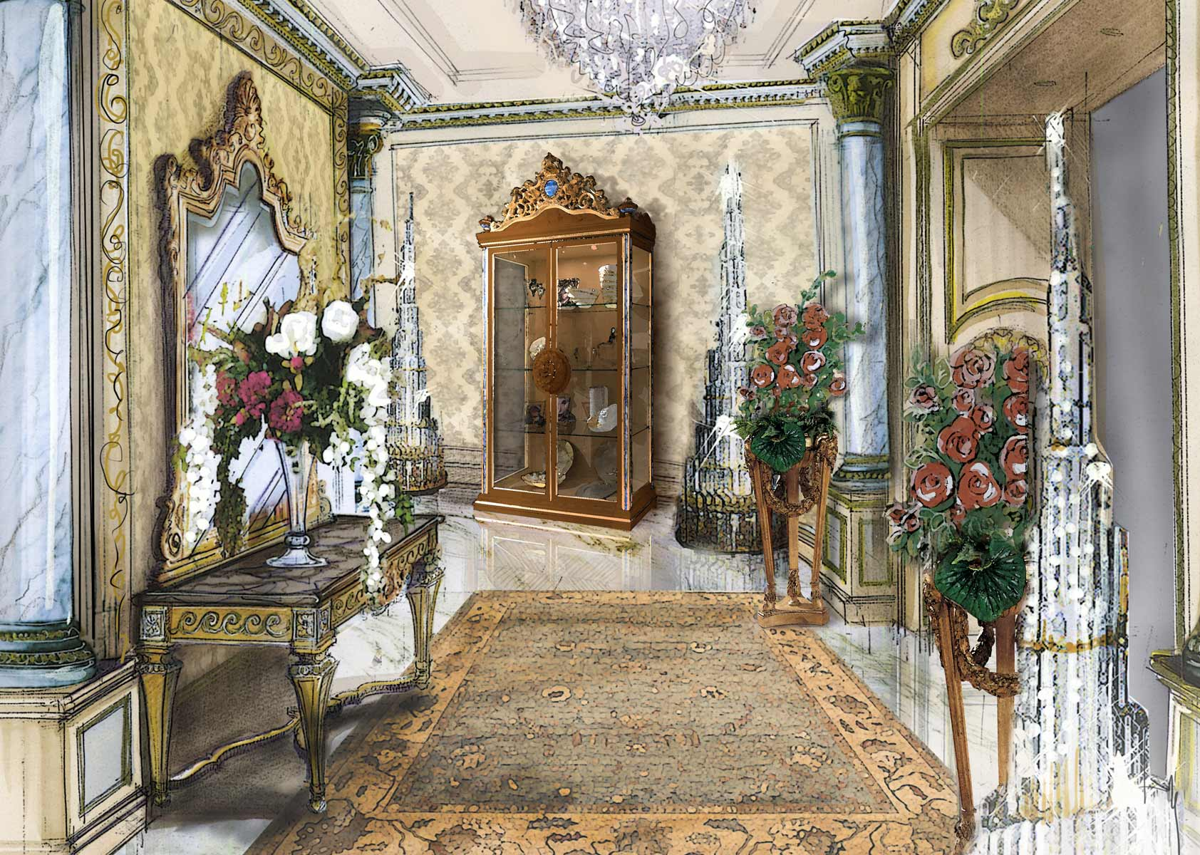 ENTRANCE HALL <br>Private Villa