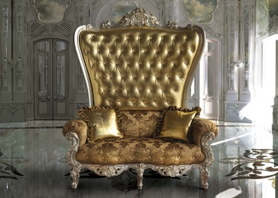 THE WEDDING THRONE<br>B/120/4 - 御座 - cm 162x95x195h